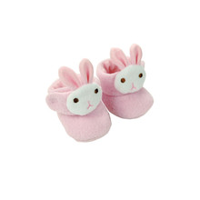 Small Pink Bunny Slippers Fits 15 Inch Bitty Baby American Doll