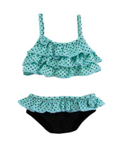 "Seafoam Green Polka Dot Bikini Fits 18 Inch American Girl Dolls Clothes ""Special Sale"""