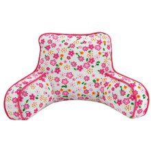 "Floral Print Backrest Pillow For 18"" Dolls"