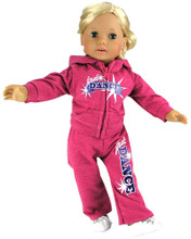 "18 Inch ""Just Dance"" Sweatsuit  2 Pc Set"