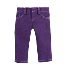 "Sophia's Purple Denim Doll Jeans fits 18"" Dolls"