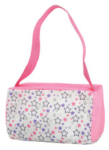 Star Print Duffle Bag Fits 18 Inch Dolls