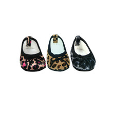 "Sophia's Animal Print Ballet Flats Fit  18"" Dolls"