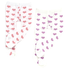 "Sophia's Heart Print Tights Fits 18"" Dolls"