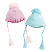 Fleece Pom-Pom Hat Fits 18 Inch American Girl Dolls Accessories Fits 18 Inch American Girl Dolls Accessories