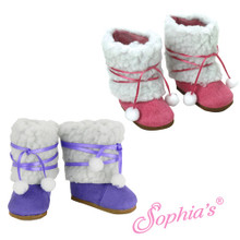 Sherpa Boots that fit 18 inch American Girl dolls