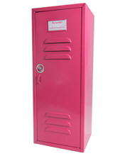 "Hot Pink Metal Locker for 18"" Dolls"
