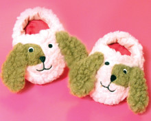 """Pink Puppy Dog Slippers fits 18"""" American Girl Dolls"""