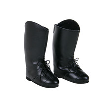 Classic Black Riding Boots Fit 18 Inch Dolls