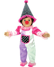 "5-Piece Clown Costume fits 18"" American Girl Dolls"