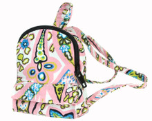 Pink Paisley Mini Backpack