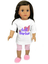 "Sophia's DollDiaries.com 3-Piece Pajama Set for 18"" Dolls"