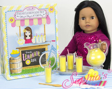 Lemonade Set  for 18 Inch Dolls in a Keepsake Box