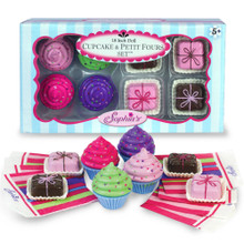 Cupcake & Petit Fours Set for 18 Inch Dolls
