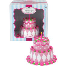18 Inch Doll Food Set Decorated Tier Cake
