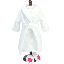 "Sophia's Soft White Robe fits 18"" Dolls"