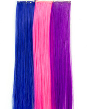 Set of 3 Clip in Hair Extensions for 18 Inch Dolls