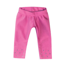 "Hot Pink Sparkle Leggings fits 18"" American Girl Dolls"
