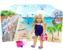 Reversible Playscene™ Beach/Runway