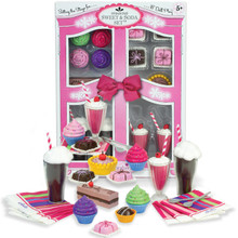 "Food Sets for 18"" Dolls Sweet & Soda Set"