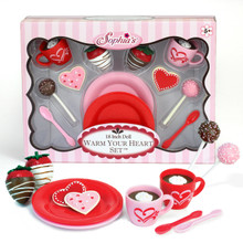 12 Piece Cocoa and Sweets Set for 18 Inch Dolls