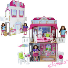 2 Story 18 Inch Doll Play House