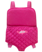 "Doll and Plush Carrier Backpack fits 18"" and 15"" Dolls"
