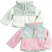 Fleece & Nylon Jacket fits American Girl