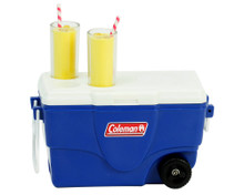 Coleman® Cooler w/Lemonade in /Blue