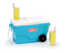 Coleman® Cooler w/Lemonade in Aqua