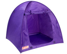 "Purple Coleman® Tent for 18"" Dolls"