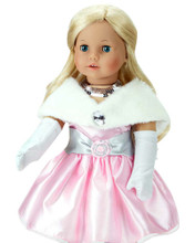 "Special Occasion 18"" Doll Dress 4 Piece Set"
