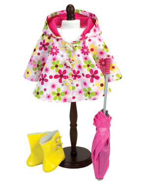 *Umbrella, Rain Wellies & Dress Form Sold Separately.