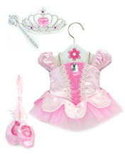 "Classic Light Pink Ballet Costume for 18"" Dolls 4 Piece Set"