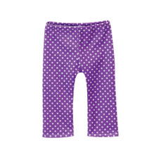 Purple Polka Dot Leggings