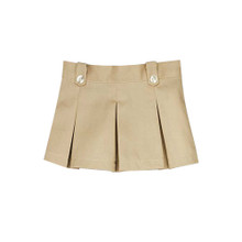 "Sophia's Khaki Pleated Skirt fits 18"" Dolls"