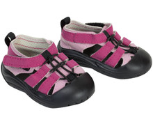"Outdoor Hiking Sandals for 18"" Dolls  fits American Girl Doll Shoes"