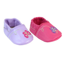 "Butterfly Slip On Shoes Fit 15"" Baby Dolls"