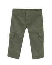 "Cargo Jeans in Olive Fits 18"" Dolls"