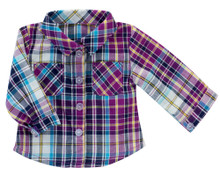 18 Inch Doll Plaid Shirt fits American Girl Doll Blouses