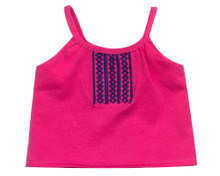 "Embroidered Tank Top fits 18"" Dolls"