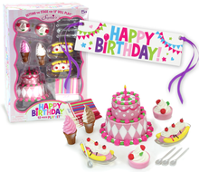 12 Piece Happy Birthday Celebration Set  for 18 inch Dolls Fits American Girl Dolls