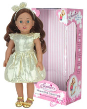 "Sophia's 18"" Auburn Hair Doll - Boxed"
