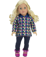 "Sophia's Polka Dot Blouse & Jeggings Set For 18"" Dolls"