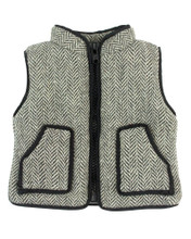 "18"" Doll Herringbone Vest fits American Girl Doll Zipper Vest"
