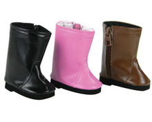 18'' Hot Pink Riding Boots Fits American Girl Doll Boots