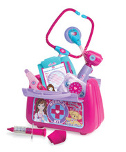 "Child Sized Medical Kit for 18"" Dolls and Plush with Lights and Sounds"