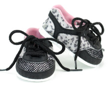 "Animal Print Sneakers Fit 18"" Dolls"
