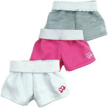 Grey Sport Shorts fit American Girl