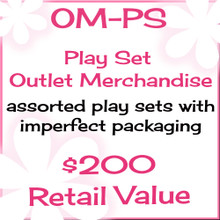 Outlet Merchandise Play Sets